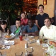 Lab members celebrated Yipeng Qu's and Olutola Jonah's Ph.D. graduation on May 23rd, 2013.