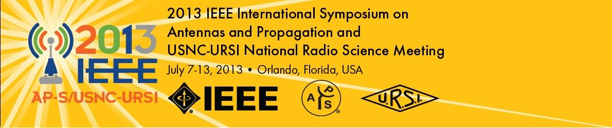 2013 IEEE AP-S/USNC-URSI Symposium