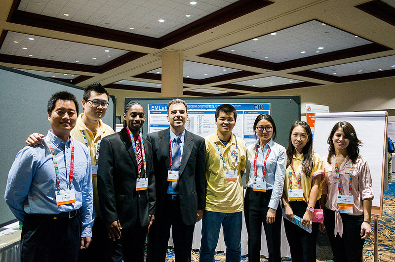 EMLab members in IMS2014 Poster Section