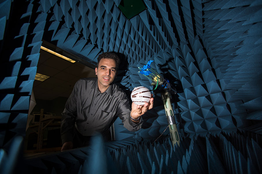Professor Stavros Georgakopoulos shows how researchers are bringing age-old origami techniques to 21st century space.